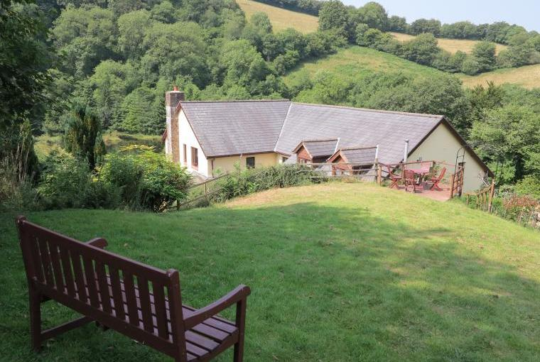 Relax and enjoy the views in the cottage's garden