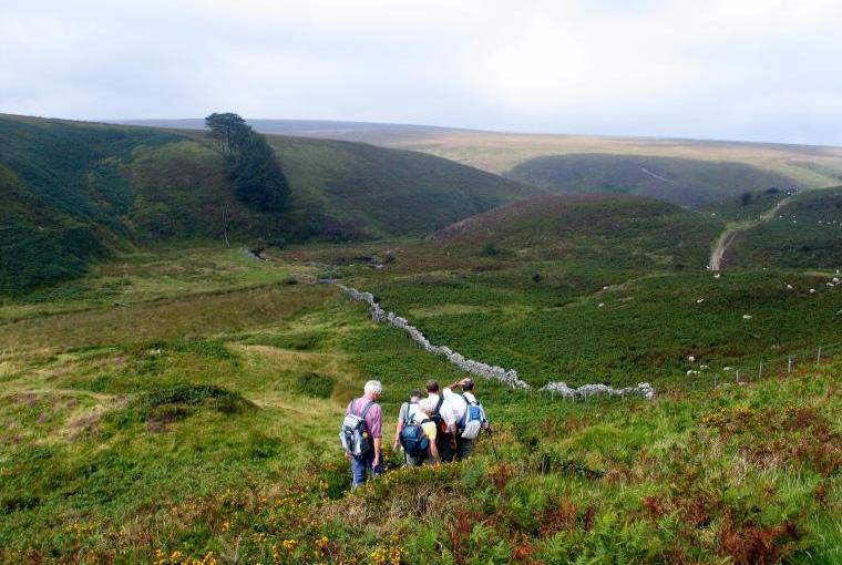 Exmoor: a walkers' paradise