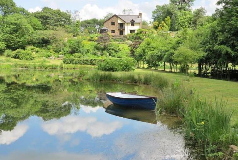 Boating and fishing lake