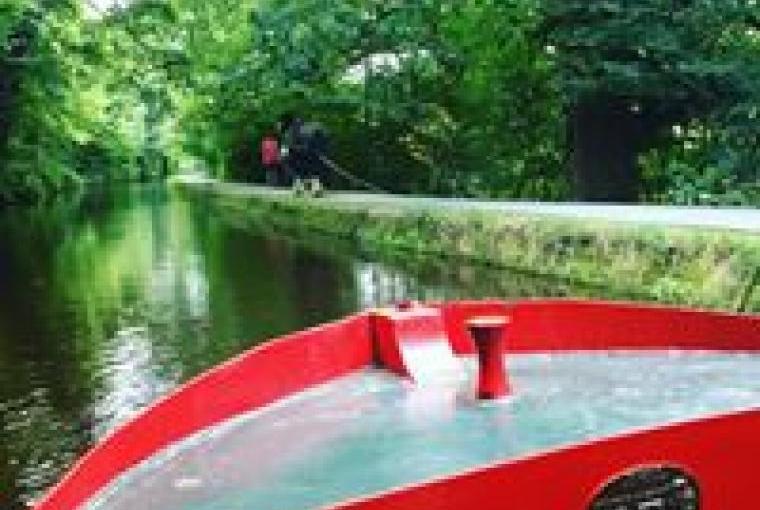 Llangollen horse drawn boat ride
