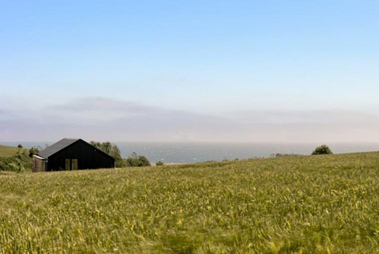 Architect-designed barn conversion with sea views