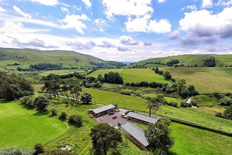 Breath taking valley of Maengwynedd