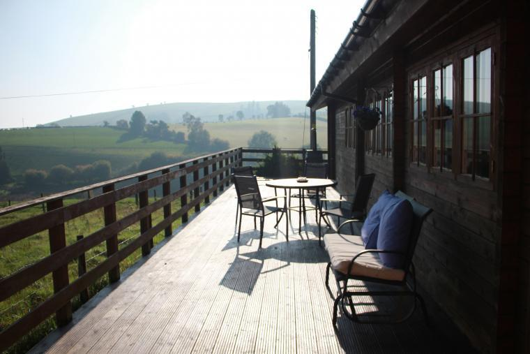 Caban Haf with all weather hot tub,, Shropshire, Photo 30