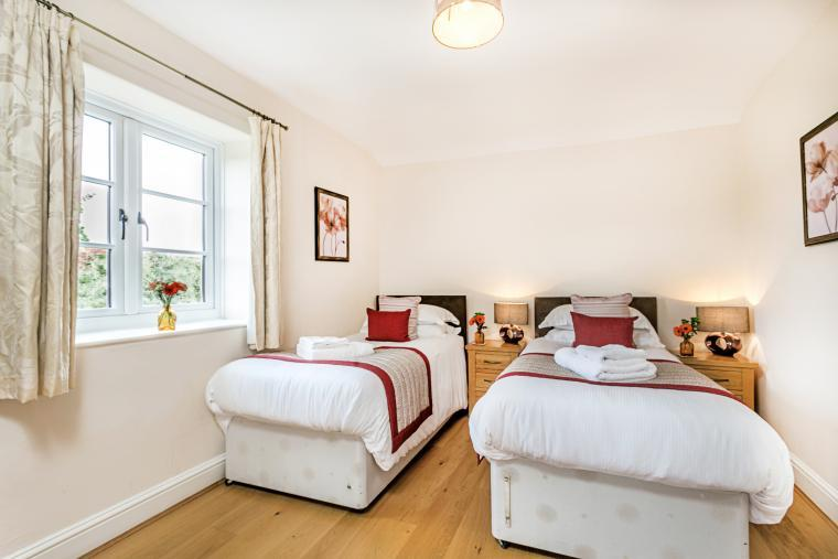 All bedrooms have zip and link beds so can be either super king or twin