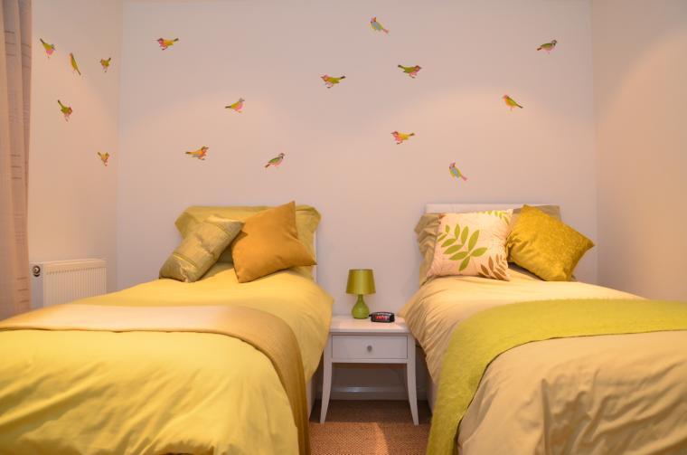 Bedroom Set-up as Twin