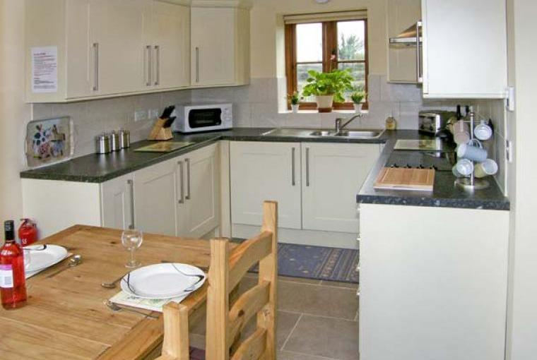 Kitchen, The Granary Coastal Cottage, North Wales