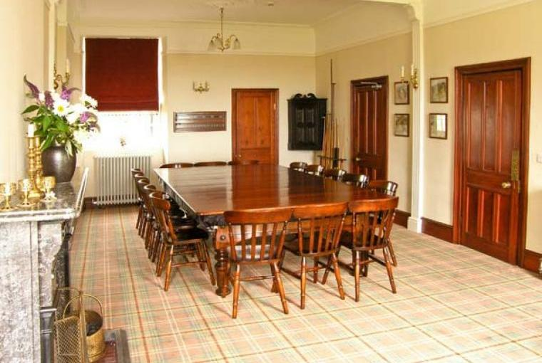 Dining room, Pensarn Hall Dogs-welcome Cottage, Snowdonia
