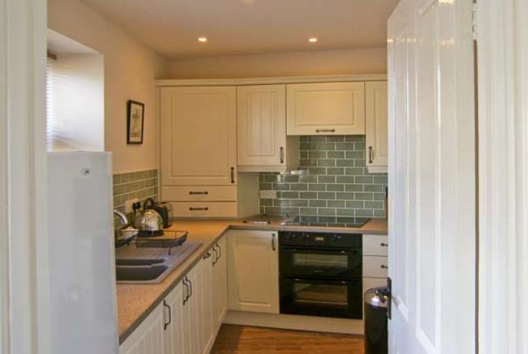 Sleek modern kitchen