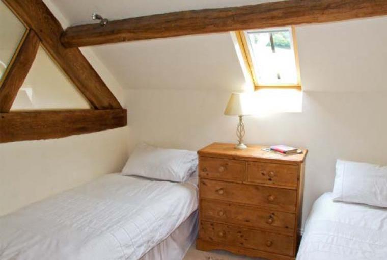 Bedroom, The Lodge Farm Barn