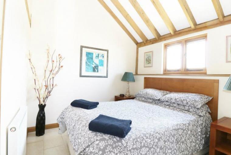 Double bedroom, Hideways Barn Conversion
