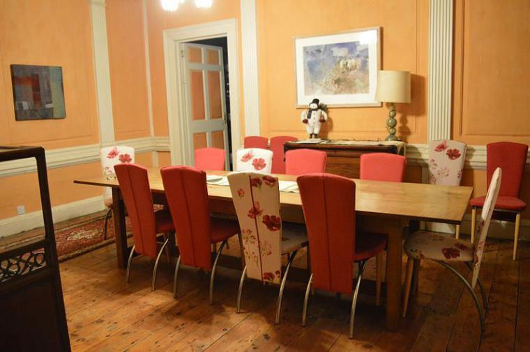 Large dinning room table