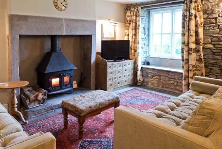 Lounge, Beckside Cottage, Lake District