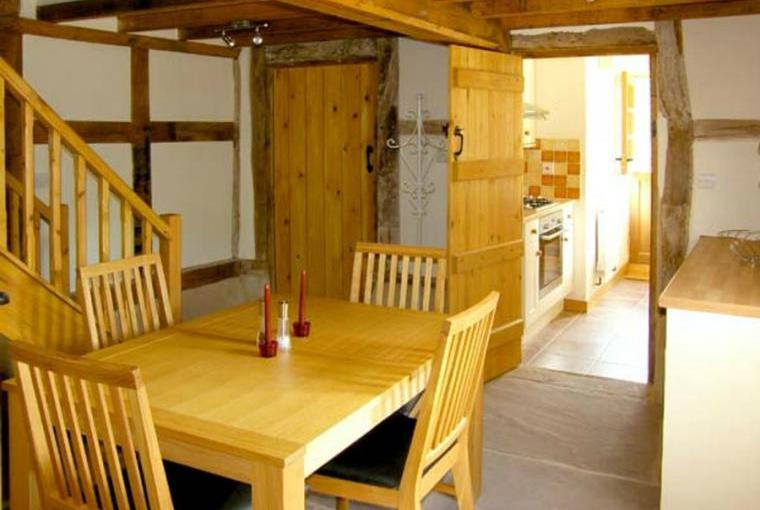 Dining area, Point Cottage