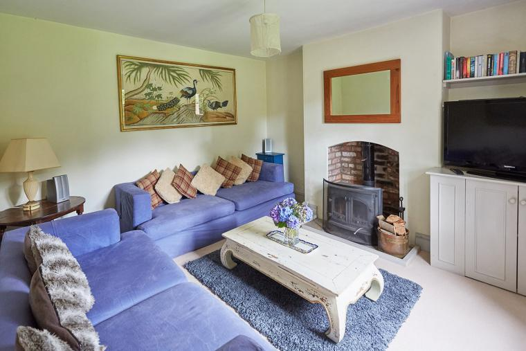 Sitting room at Gardeners Cottage