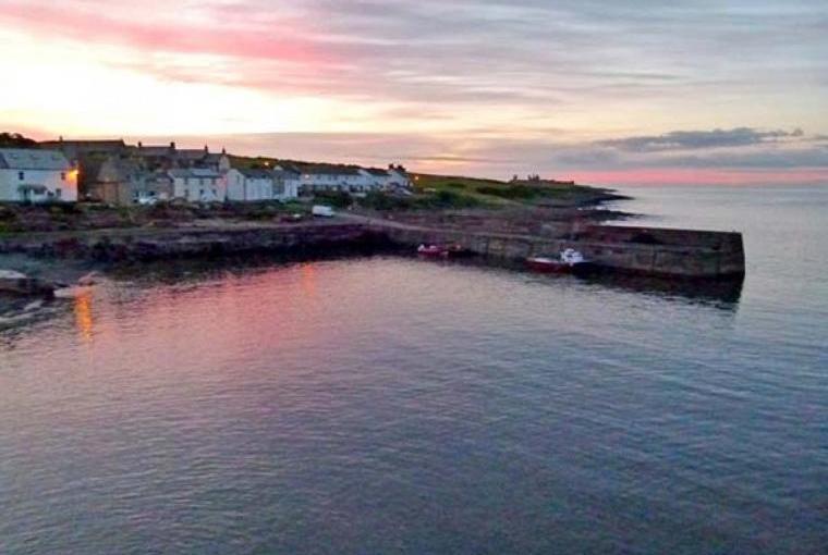 Scenic Northumberland coast