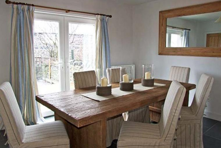 Dining room, Craster Reach Cottage