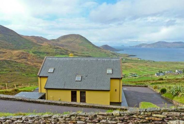 High Rise Coastal Cottage with Sea Views, County Kerry