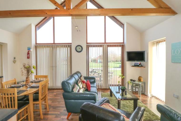 Open plan living, Birkdale Lodge