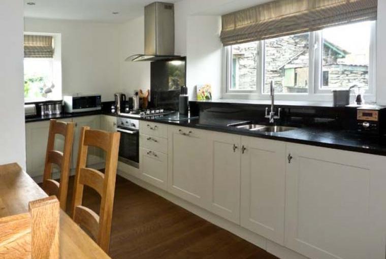Kitchen, Woodbine Family Cottage, Cumbria