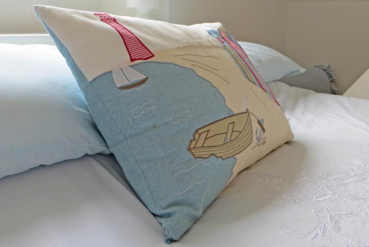The beautiful soft furnishings