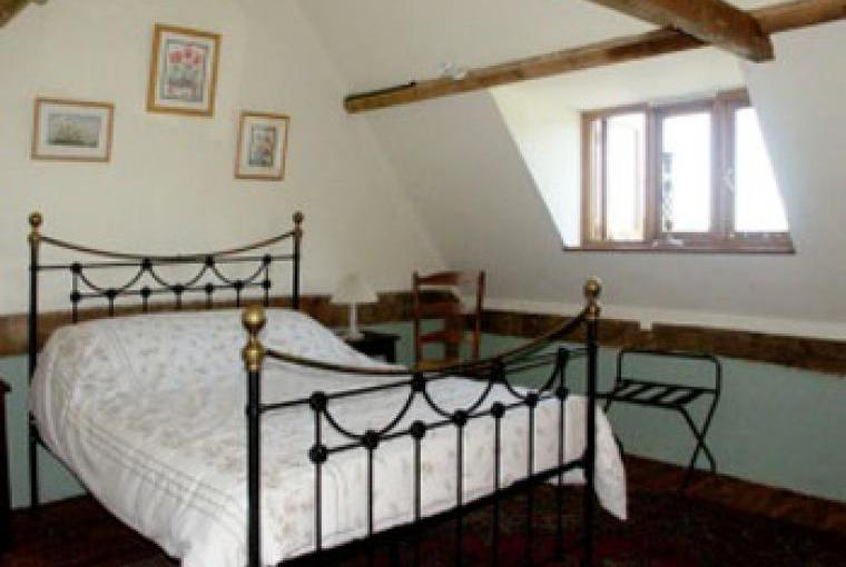 Rectory Cottage Galleried Double Bedroom