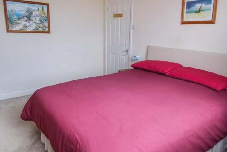 Bedroom at Crendon Cottage, Near Portreath, Cornwall