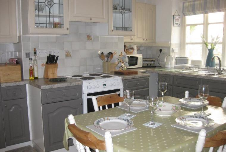 Victoria cottage kitchen