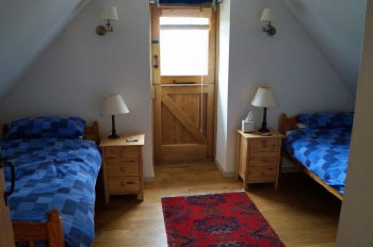 1sr floor twin bedroom