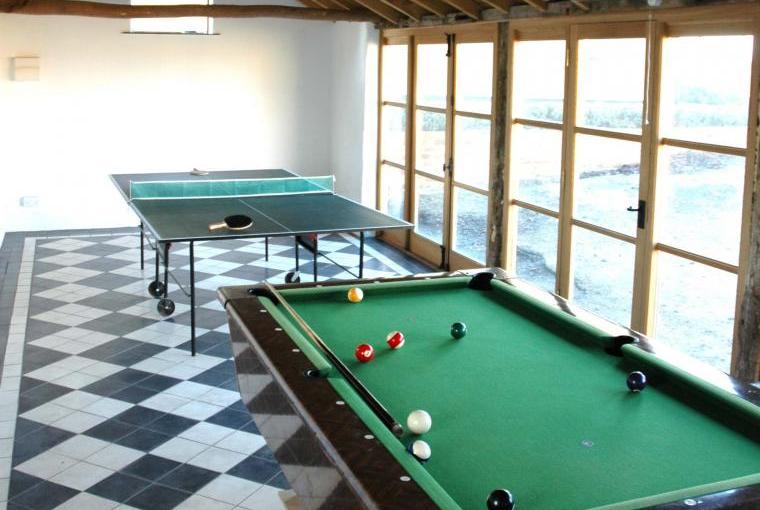 The Farmhouse @ Grove Farm - games room