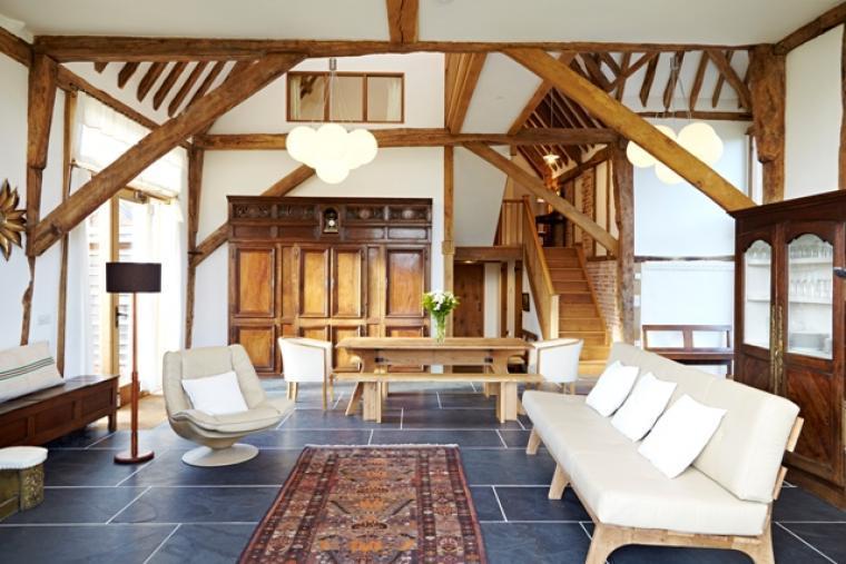 Alfred's Barn @ Grove Farm - sitting room