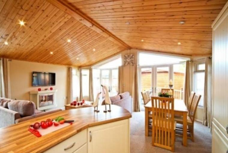 Thirlmere Chalet, Living area