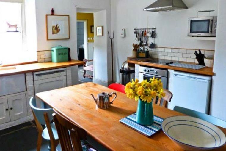 Kitchen/diner, Raceside Farmhouse, Cumbria