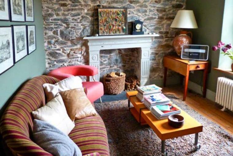 Cosy lounge, Raceside Farmhouse near the Lake District National Park