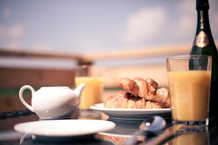 Relaxing Breakfast