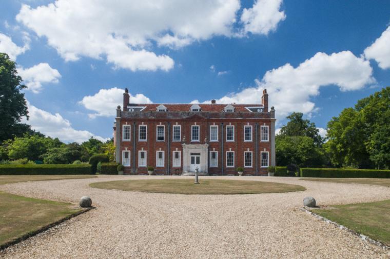 Beautiful Belchamp Hall estate