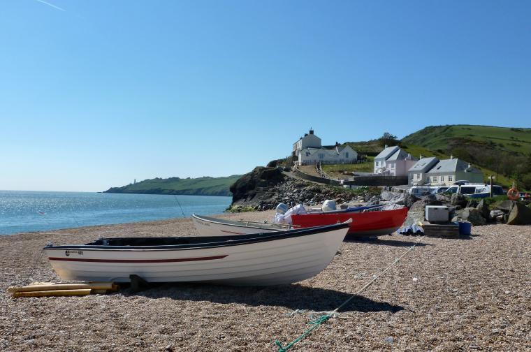 South Devon beaches near Dittiscombe, Slapton