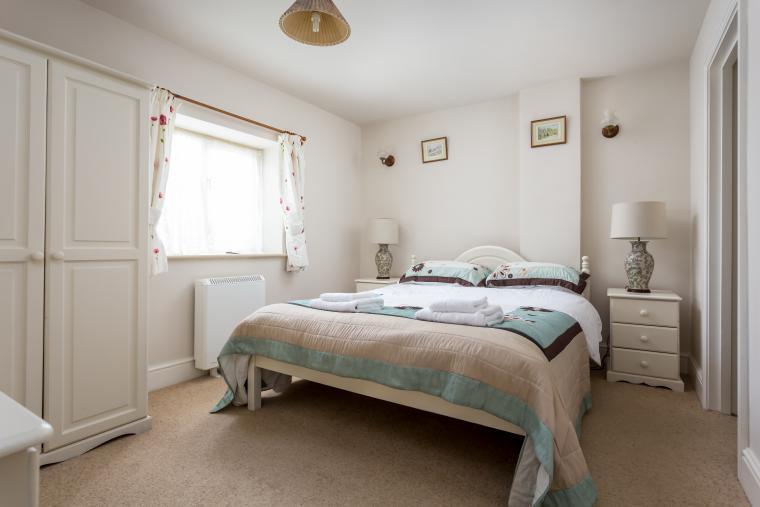 Groundfloor double bedroom number 1