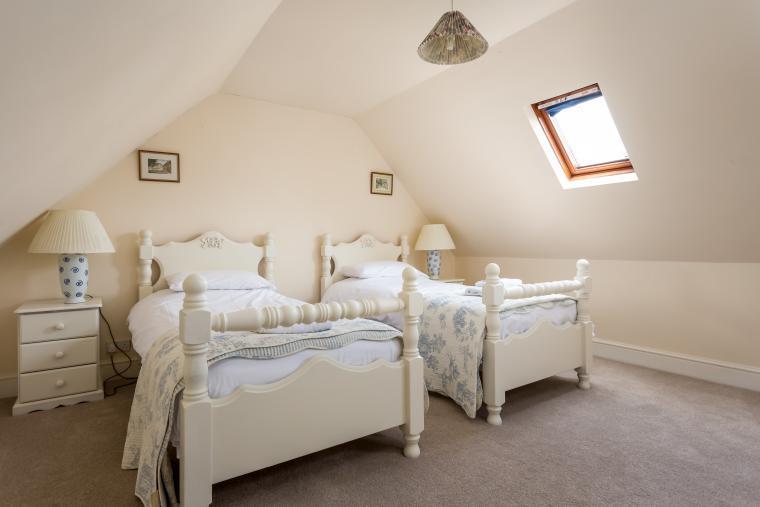 1st floor twin bedded room number 1