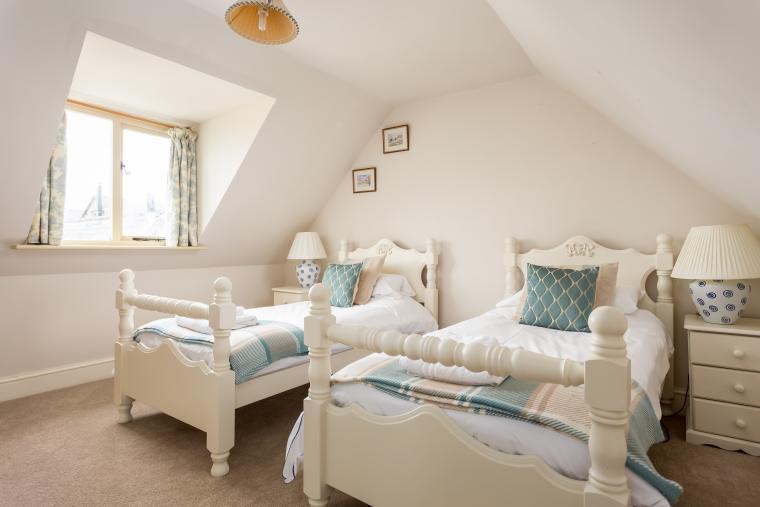 1st floor twin bedded room number 2.