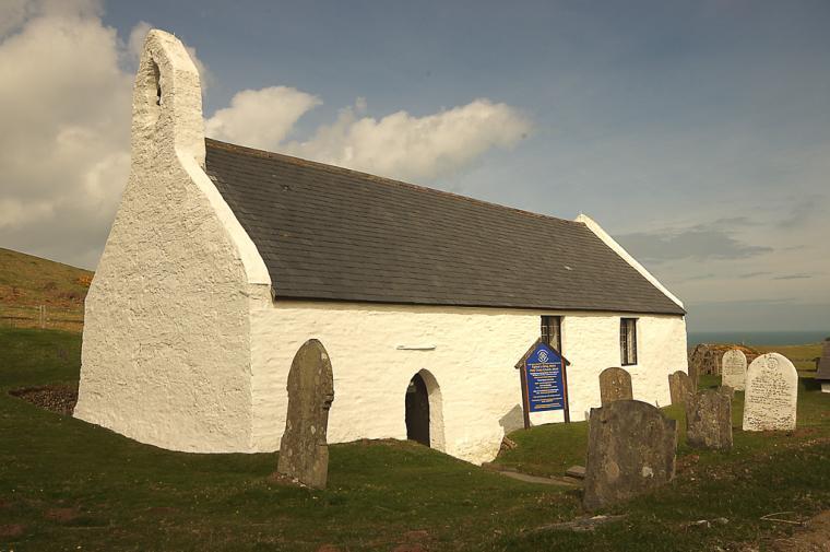 Mwnt church