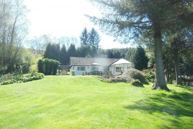 Ty Gwyn garden view