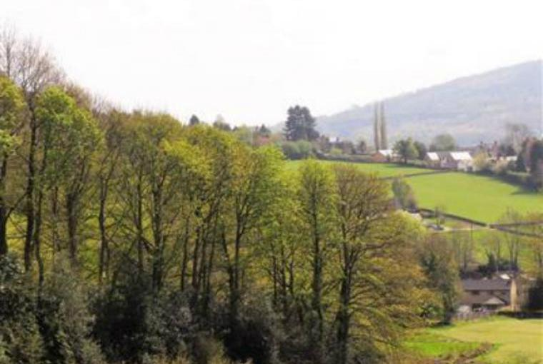 Stunning valley views