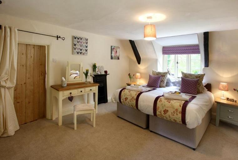 Huge Bedroom, Plenty of Room For A Travel Cot Or Two, With TV and DVD