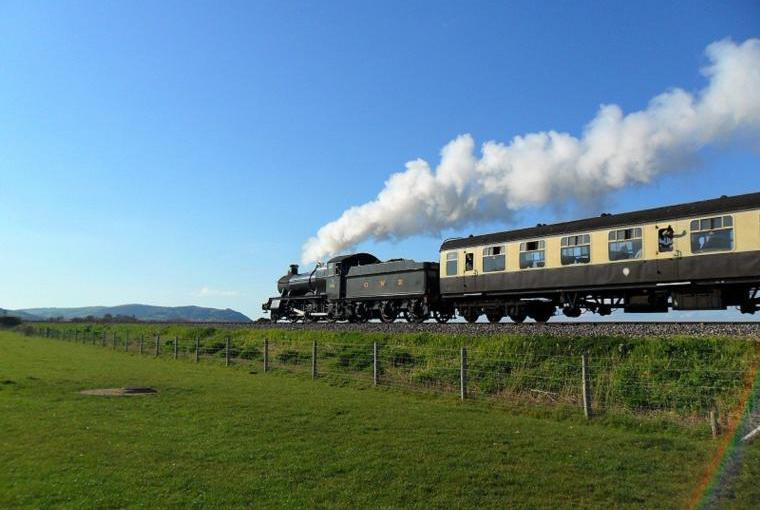 West Somerset Heritage Railway two Miles From Cherry Tree Farmhouse