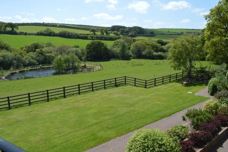 Situated in beautiful Cornish countryside