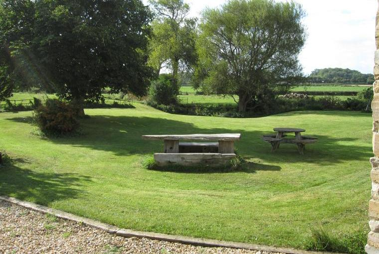 Large garden and walks