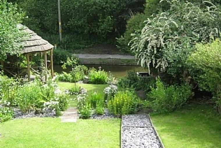 Delightful Canalside Garden
