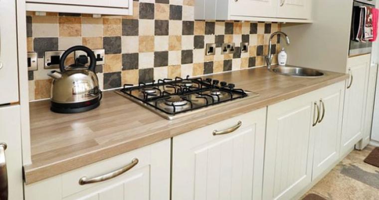 2 bedroom cottage kitchen staffordshire