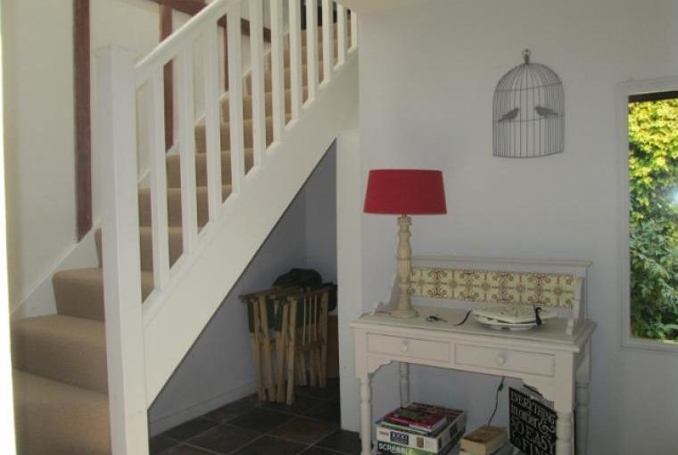 Entrance lobby with stairs to the Loft