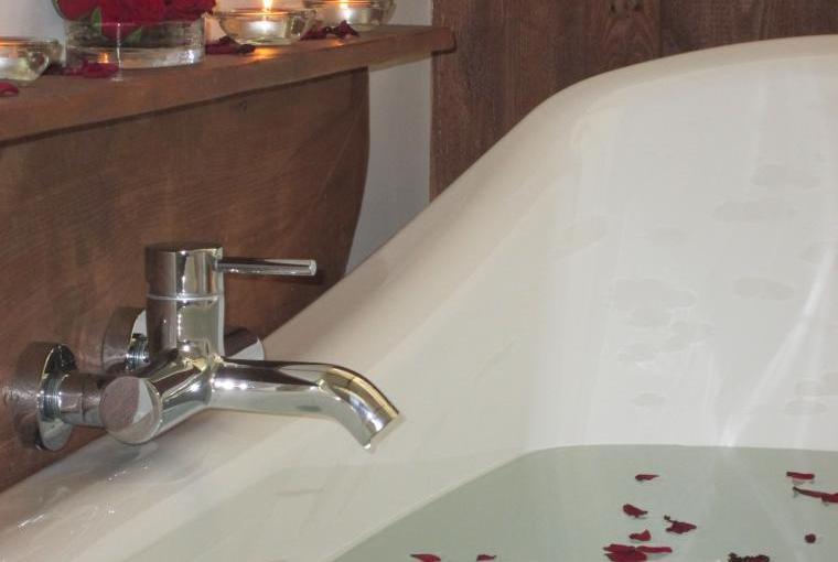 Enjoy a long soak in the bath